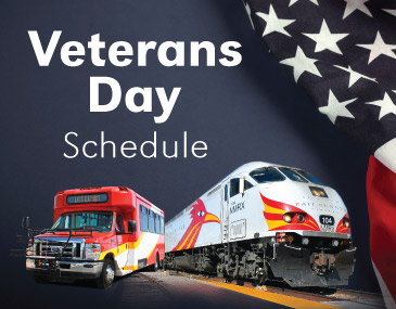 Rio Metro Veterans Day Schedule Train and Bus