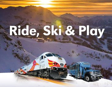 Rail Runner Train and Bus to Ski Santa Fe