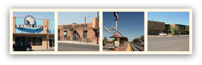 A coolage of Photos from Downtown Bernalillo