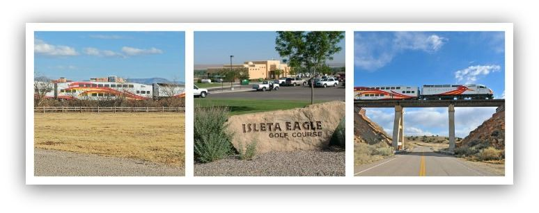 Collage of Photos From Isleta Pueblo
