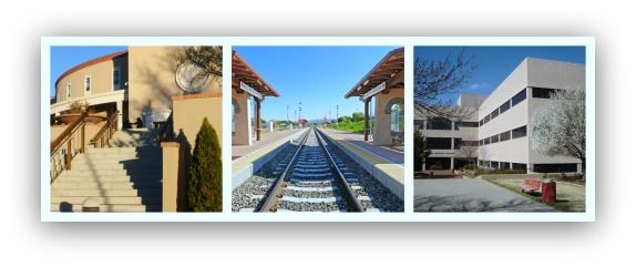Collage of Photos From South Capitol Station