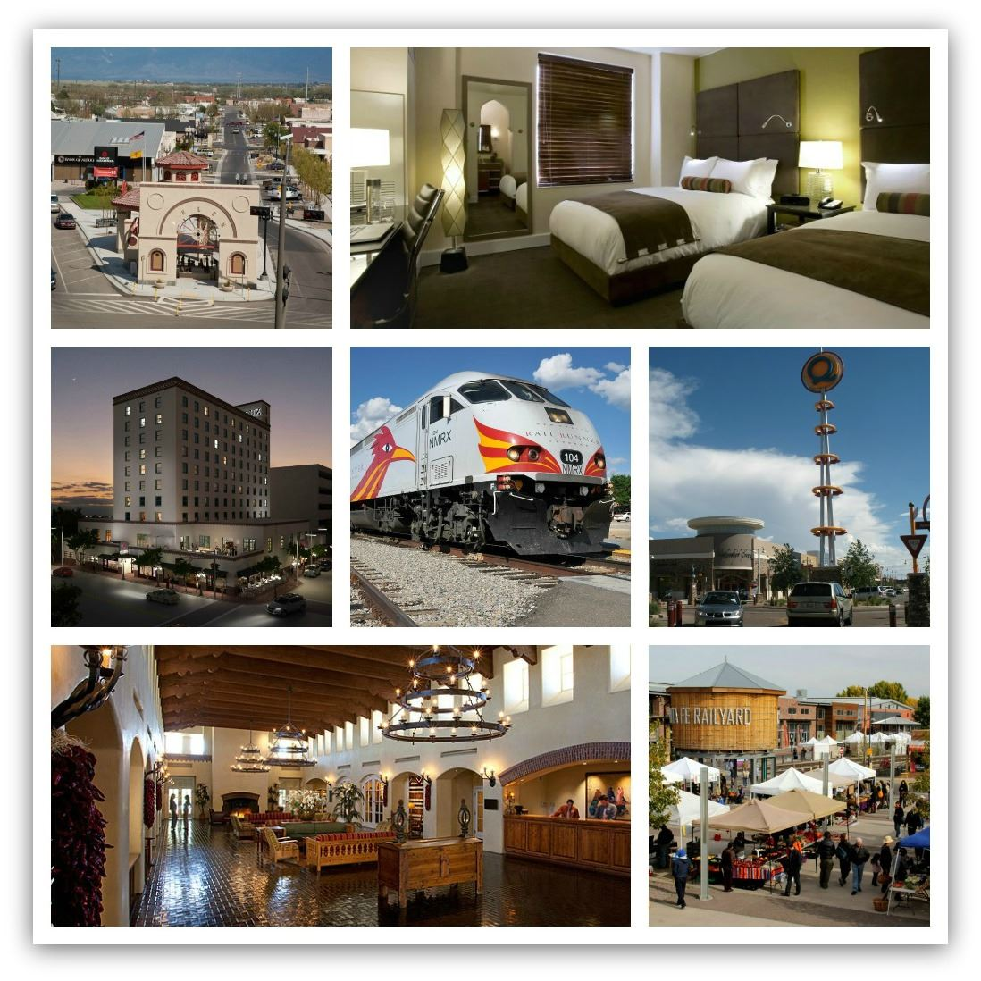 A Collage of Photos for Destinations Promotions