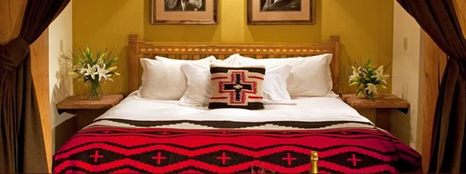 Bed at The Lodge at Santa Fe