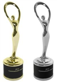 Communicator Award Trophies - 2013
