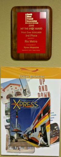 1st Place Ad Wheel Marketing Award  Brochure  and Spotlight Award Electronic Media - 2010