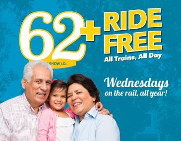 Seniors 62 and Older Ride Free in 2019