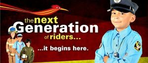 The Next Generation of Riders... ...It Begins Here Campaign Flyer