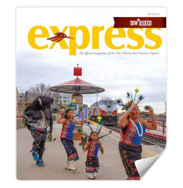 Magazine Cover with Native American Dancers Opens in new window